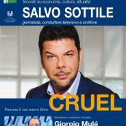 """""""CRUEL"""" Salvo Sottile presenta il suo nuovo libro"""