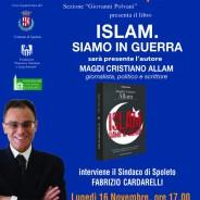 ISLAM SIAMO IN GUERRA –  Magdi Cristiano Allam a Spoleto per la presentazione del suo ultimo libro