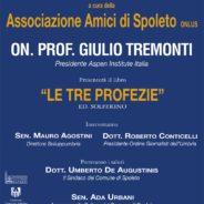"""Giulio Tremonti presenta Il Libro """"Le Tre Profezie"""""""