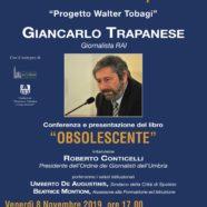 'Obsolescente', il libro di Giancarlo Trapanese